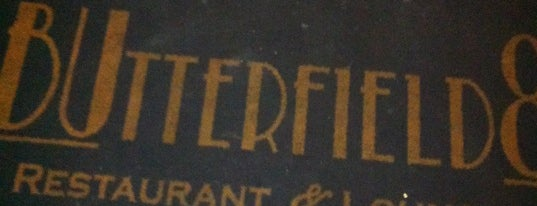 Butterfield 8 Restaurant & Lounge is one of งง.