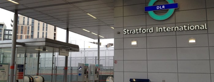 Stratford International DLR Station is one of Paul : понравившиеся места.
