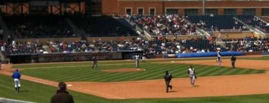 Durham Bulls Athletic Park is one of Durham Favorites.
