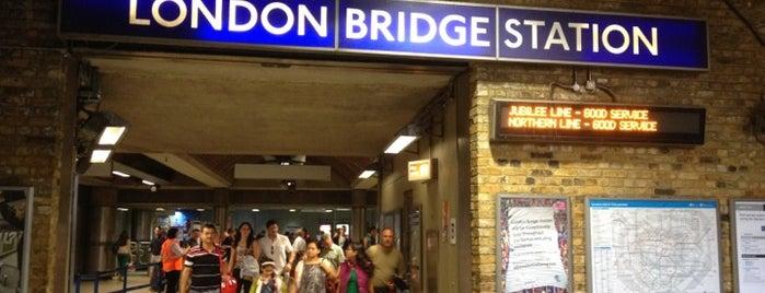 ロンドンブリッジ鉄道駅 (LBG) is one of LONDON.