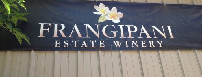 Frangipani Estate Winery is one of California.