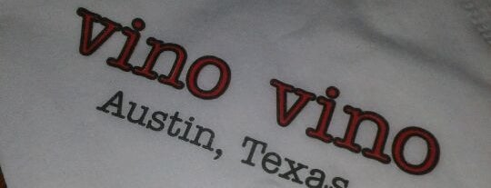 Vino Vino is one of Austin Wine Bars.