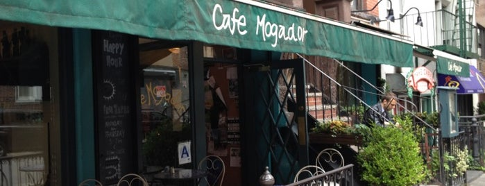 Cafe Mogador is one of Restaurants.