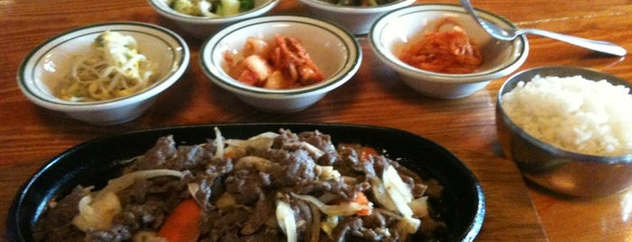 Beewon Korean Cuisine is one of Posti che sono piaciuti a Jingyuan.