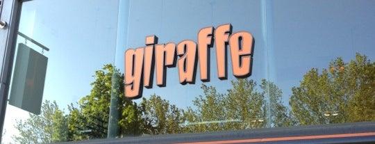 Giraffe is one of Del'in Beğendiği Mekanlar.