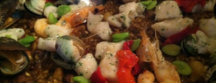 Socarrat Paella Bar is one of Must-Visit Eats/Drinks in NYC.