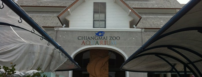 Chiangmai Zoo Aquarium is one of Thai Flowers.