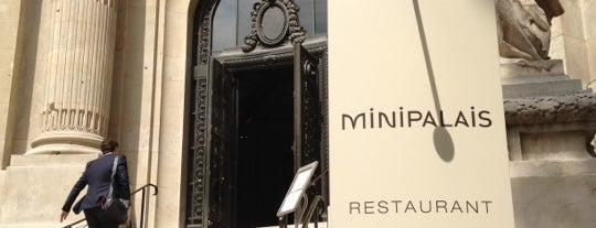 Mini Palais is one of Paris bars.