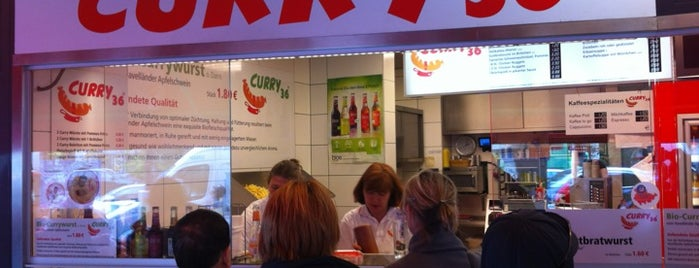 Curry 36 is one of Berlin's best food.