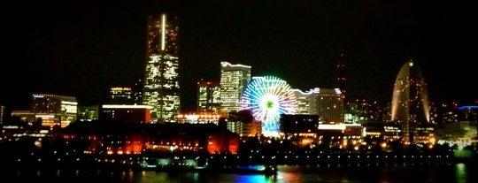 横浜港大さん橋 国際客船ターミナル is one of 日本夜景遺産.