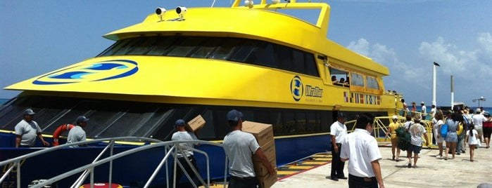 Ferry Ultramar is one of Locais curtidos por Nayeli.