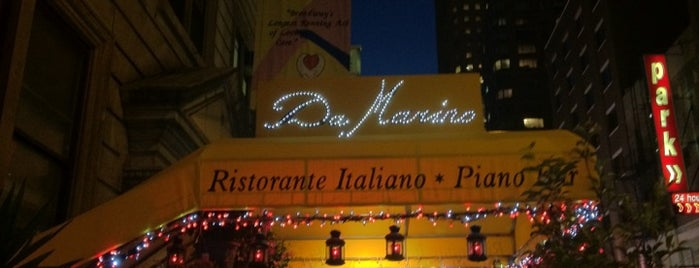 Da Marino Restaurant is one of Favorite places.