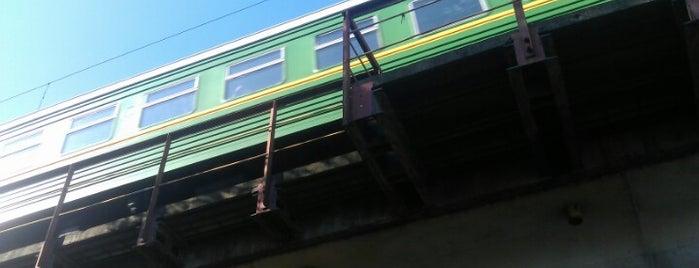 Мост Октябрьской железной дороги is one of Diana 님이 좋아한 장소.