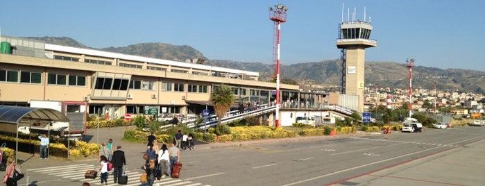 """Aeroporto dello Stretto """"Tito Minniti"""" (REG) is one of Airports."""