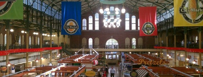 City Market is one of 40 Top-Rated Food Halls in the U.S..