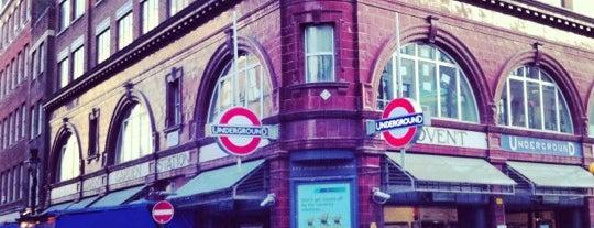 Covent Garden London Underground Station is one of Underground Stations in London.