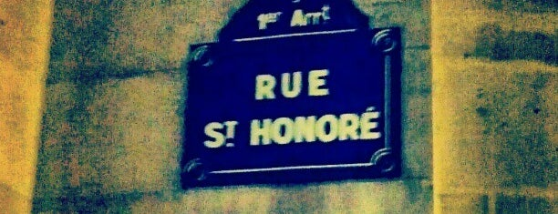 Rue Saint-Honoré is one of Paris.