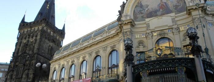 Obecní dům is one of Viaje a Praga.