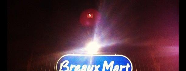 Breaux Mart is one of Locais curtidos por Tom.