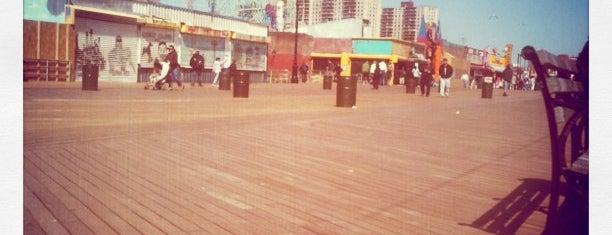 Coney Island Beach & Boardwalk is one of NY To Do.