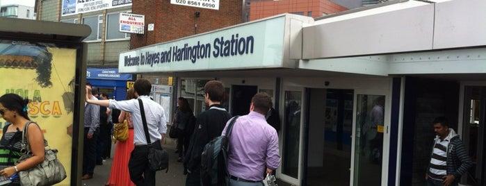 Hayes & Harlington Railway Station (HAY) is one of TFL Elizabeth Line Stations.
