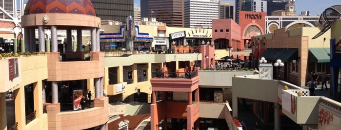 Horton Plaza is one of SD.