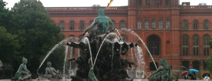 Neptunbrunnen is one of Top Locations Berlin.