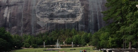 Stone Mountain Park is one of #416by416 4sqDay List 1.