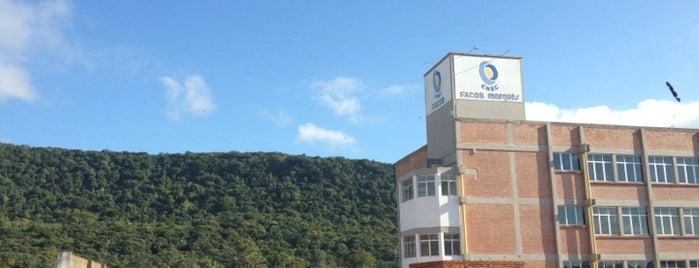 Faculdade Cenecista de Osório (FACOS) is one of Luís Antônio : понравившиеся места.
