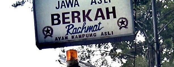 """Ayam Goreng """"Berkah"""" Rachmat is one of Rikaさんのお気に入りスポット."""