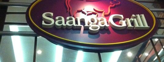 Saanga Grill is one of Lojas Shopping Estação.
