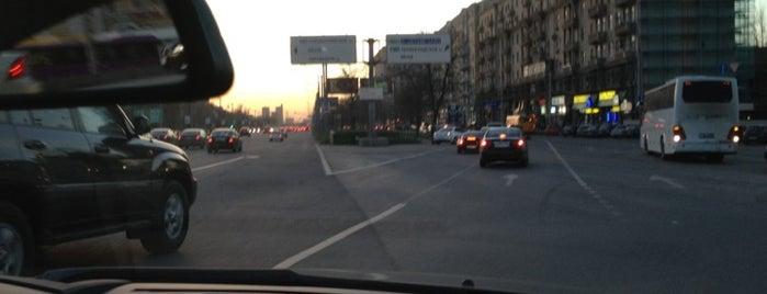 Пробка На 1й-Брестской! Жесть :) is one of рядом с домом.