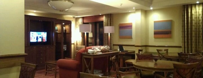 Marriott Marble Arch - Executive Lounge is one of Orte, die Mike gefallen.