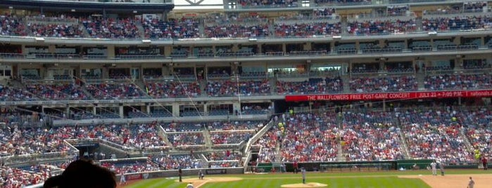 Nationals Park is one of Summer in DC.