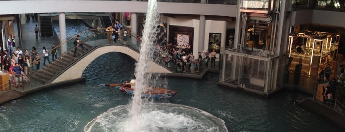 The Shoppes at Marina Bay Sands is one of Singapore.