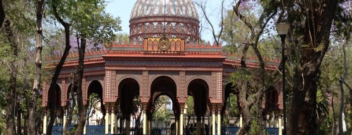 Alameda de Santa María La Ribera is one of México D.F..