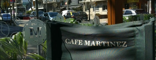 Café Martínez is one of Lugares guardados de Fabio.