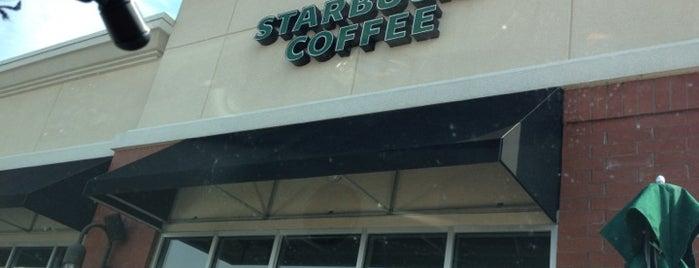 Starbucks is one of Jacob 님이 좋아한 장소.