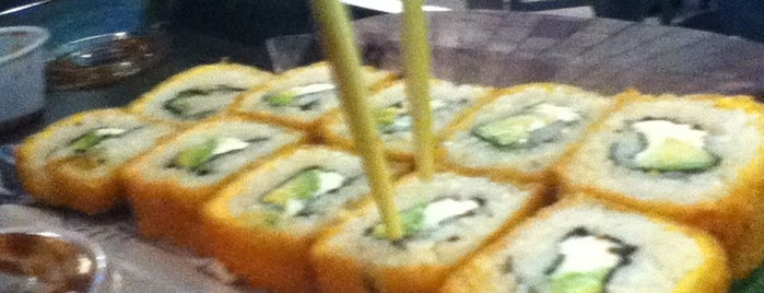 Sushi Roll is one of Locais curtidos por Angeles.