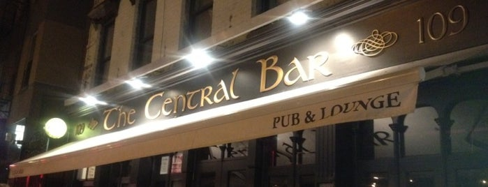 Central Bar is one of Wifi NYC.