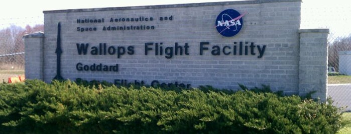 NASA Wallops Flight Facility is one of Chincoteague.