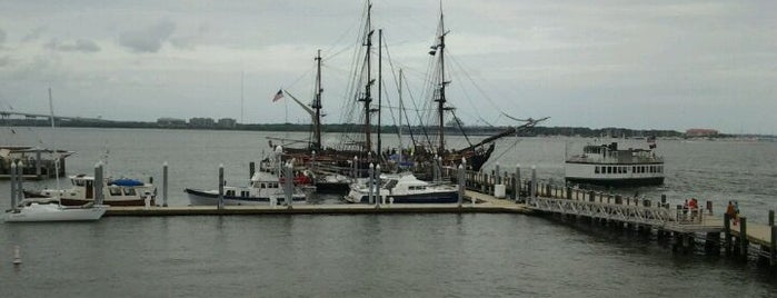 Charleston Maritime Center is one of Steveさんのお気に入りスポット.