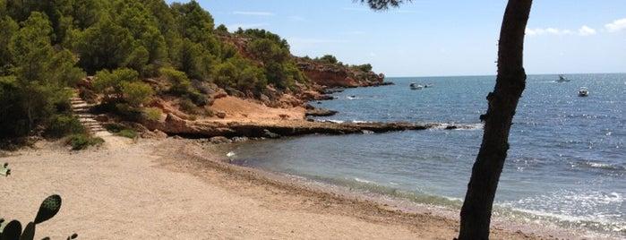 Platja de Cap Roig is one of Playas de España: Cataluña.