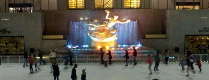 ロックフェラーセンター is one of A Trip to New York.
