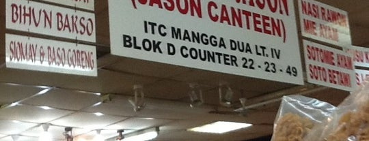 Jason Canteen, ITC Mangga Dua is one of Lugares favoritos de nania.