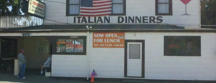 Dinucci's Italian Dinners is one of santa Rosa, Cali.