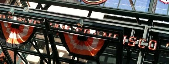 San Francisco Giants Home Clubhouse is one of Lieux sauvegardés par montserrat.