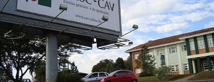 CAV/UDESC is one of Orte, die Thaís gefallen.
