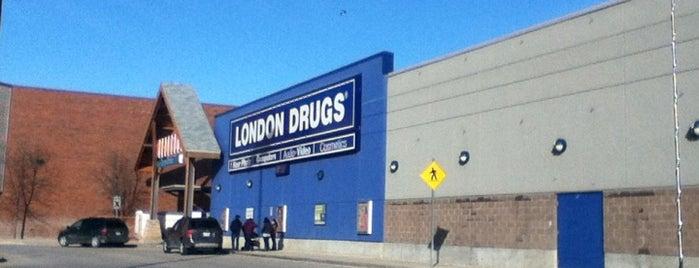 London Drugs is one of Winnipeg.
