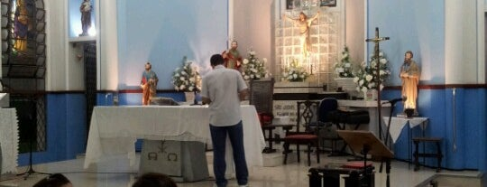 Igreja São Judas Tadeu is one of สถานที่ที่บันทึกไว้ของ Arquidiocese de Fortaleza.